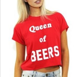The Laundry Room Queen of Beers Shirt